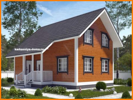 Дом 6 на 8 с мансадрой от 1078000 рублей